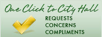 One Click to City Hall - Requests Concerns Compliments